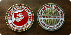 Korean War Challenge Coin